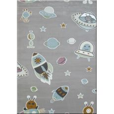 Παιδική χαλομοκέτα Baby Planet 095 Grey